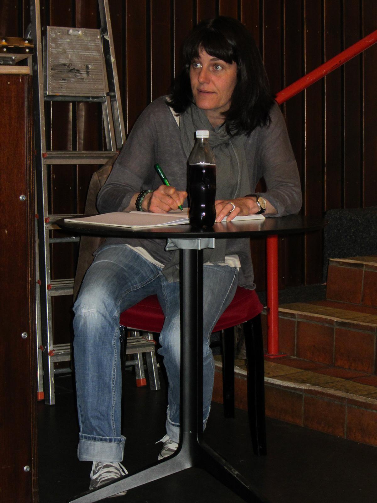 Sandrine Michellod à la mise en scène